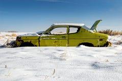 Cal congelada Fotos de archivo libres de regalías