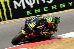 Cal Crutchlow YAMAHA techniki 3 MotoGP 2012 Obraz Stock