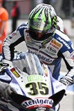 Cal Crutchlow Yamaha YZF-R1 Royalty Free Stock Photography