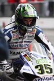 Cal Crutchlow Yamaha YZF-R1 Royalty Free Stock Images