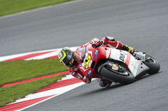Cal do cruchlow, gp 2014 do moto Foto de Stock