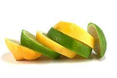 Cal e limão de ?ut imagens de stock royalty free