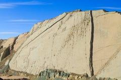Cal Orcko paleontological plats, Bolivia Royaltyfria Bilder