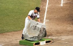 Cal Ripken Breaks den Ironman strimman, September 6, 1995 Arkivbild
