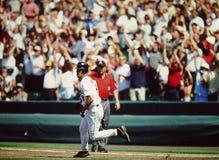 Cal Ripken Jr. Baltimore Orioles. Former Baltimore Orioles superstar Cal Ripken, Jr. (image taken from color slide Royalty Free Stock Photo