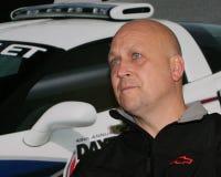 Cal Ripken Jr deltar i NASCAR-loppet fotografering för bildbyråer