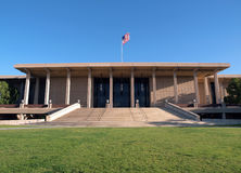 Cal State University Northridge Library Royalty Free Stock Photo