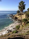 Cal wybrzeże Fotografia Royalty Free
