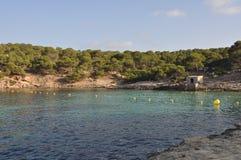 Cala πυίδα Vels παραλία σε Majorca Στοκ φωτογραφία με δικαίωμα ελεύθερης χρήσης