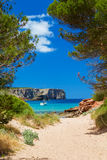 Cala Algaiarens Royalty Free Stock Photography