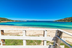Cala Battistoni beach Royalty Free Stock Photo