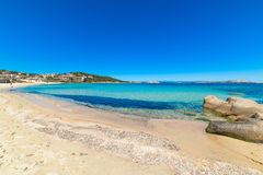 Cala Battistoni beach Stock Images