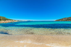 Cala Battistoni on a clear day Stock Image