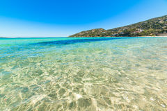 Cala Battistoni sea Stock Photography