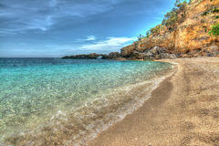 Cala Biriola in hdr Royalty Free Stock Photography