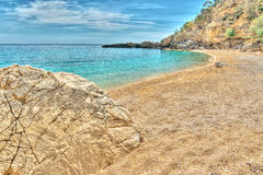 Cala Biriola in hdr Stock Images