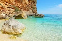 Cala Biriola shore Royalty Free Stock Images