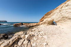 Cala Blanca in Javea Royalty Free Stock Photo