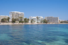 cala bona majorca Ισπανία νησιών ξενοδοχ Στοκ φωτογραφίες με δικαίωμα ελεύθερης χρήσης