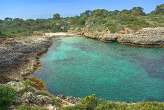 Cala Brafi Beach Royalty Free Stock Images
