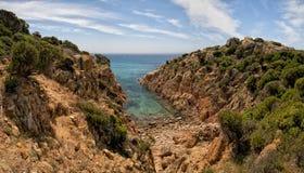 CALA CIPOLLA Сардиния Стоковые Изображения RF