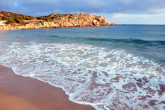 Cala cipolla in Sardinige Royalty-vrije Stock Foto's