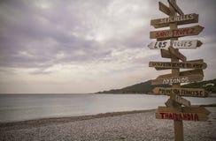 Cala Codolar, Ibiza Стоковые Изображения