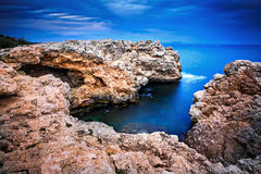 Cala Comtesa at Illetes Royalty Free Stock Photos
