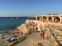 Cala Conta Ibiza Fotos de archivo