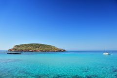 Cala Conta, Ibiza Spain Stock Images