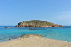 Cala Conta, Ibiza, Spain Royalty Free Stock Photography