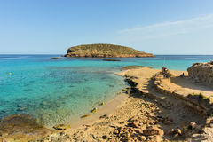 Cala Conta, Ibiza, Spain Royalty Free Stock Image