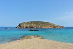 Cala Conta, Ibiza, Spanje Royalty-vrije Stock Fotografie