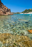 Cala Corsara bay in Sardinia Royalty Free Stock Photos