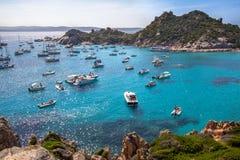 Cala Corsara, isla de Cerdeña, Italia foto de archivo libre de regalías