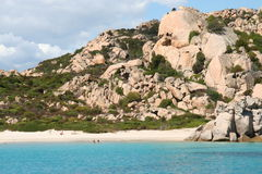 Cala Corsara - Maddalena Archipelago. The Maddalena Archipelago is a group of islands in the Straits of Bonifacio between Corsica and north-eastern Sardinia Royalty Free Stock Images