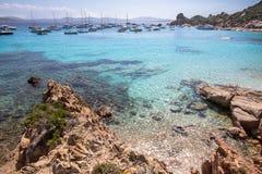 Cala Corsara, Sardinia island, Italy Stock Photos