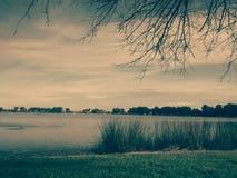 Cala - día nublado Fotos de archivo