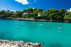 Cala d& x27; Eller Mallorca Arkivfoton