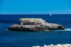 Cala d& x27; Eller Mallorca Arkivfoto