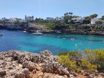Cala d& x27; Eller Mallorca Royaltyfri Bild