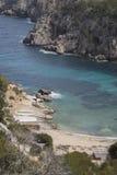 Cala d'en Serra Beach and Cove, Portinatx; Ibiza Stock Photos