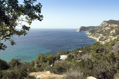 Cala d'Hort Royalty Free Stock Image