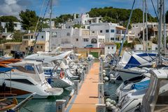 Cala D'Or marina Royalty Free Stock Photo