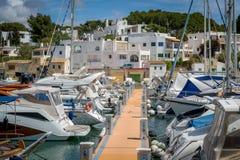 Cala D'Or marina Royalty Free Stock Photo