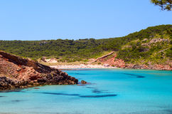 Cala de Algariens Stock Images