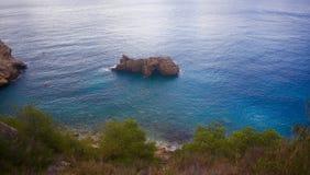 Cala de Ambolo -西班牙 免版税库存照片