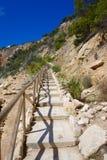 Cala de Ambolo - Javea beach - Spain Royalty Free Stock Photo