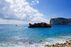 Cala de Ambolo - Javea beach - Spain Royalty Free Stock Photos