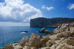 Cala de Ambolo - Javea - la Spagna fotografia stock libera da diritti